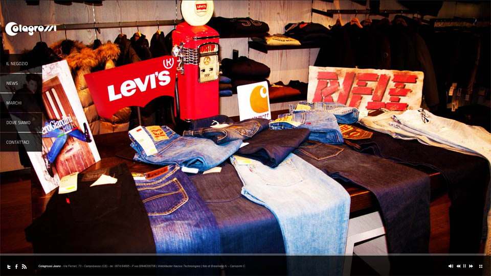sito web colagrossi jeans