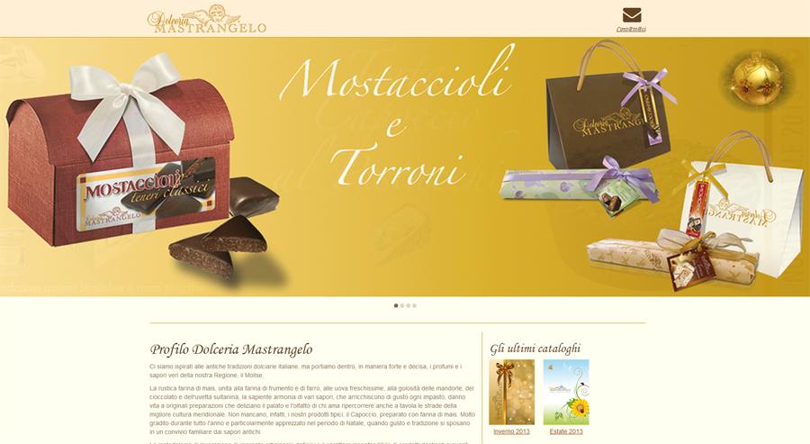 Sito Web Pasticceria Molidolce Campobasso