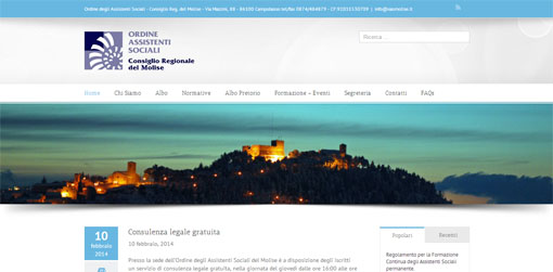 sito web oas molise Campobasso