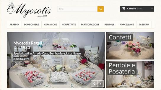 Myosotis Regali Campobasso | Arredo casa, bomboniere e lista nozze