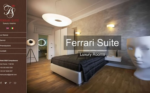 Ferrari Suite - Luxury Rooms - Hotel B&B Campobasso
