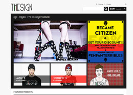 Ecommerce Abbigliamento - TheSign Republic